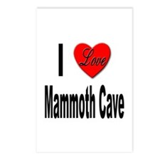 I Love Mammoth Cave Postcards (Package of 8)