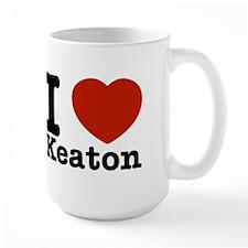 I Love Keaton Mug