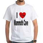 I Love Mammoth Cave (Front) White T-Shirt