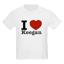I Love Keegan T-Shirt