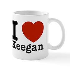 I Love Keegan Mug