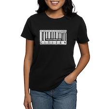 Throckmorton Citizen Barcode, Tee