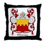 Odwaga Coat of Arms Throw Pillow
