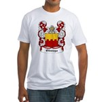 Odwaga Coat of Arms Fitted T-Shirt