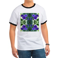 Blue Flower Reflection T