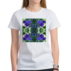 Blue Flower Reflection Tee