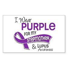 I Wear Purple 42 Lupus Decal