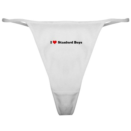 I Love Stanford Boys Classic Thong