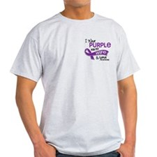 I Wear Purple 42 Lupus T-Shirt