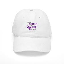 I Wear Purple 42 Lupus Baseball Cap