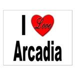 I Love Arcadia Small Poster