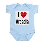I Love Arcadia Infant Creeper