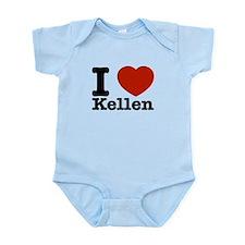 I Love Kellen Infant Bodysuit