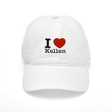 I Love Kellen Baseball Cap