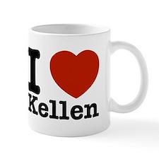 I Love Kellen Small Mug