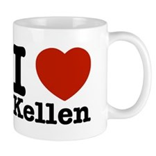 I Love Kellen Small Small Mug