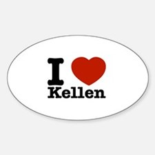 I Love Kellen Decal