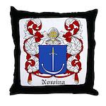 Nowina Coat of Arms Throw Pillow