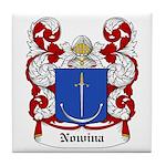 Nowina Coat of Arms Tile Coaster