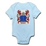 Nowina Coat of Arms Infant Creeper