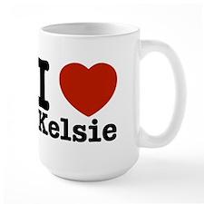 I Love Kelsie Mug
