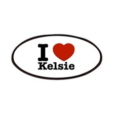 I Love Kelsie Patches