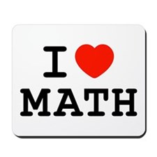 I Heart Math Mousepad