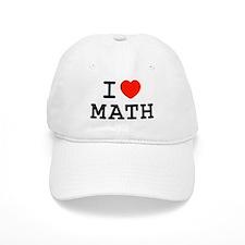 I Heart Math Baseball Cap