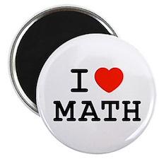 "I Heart Math 2.25"" Magnet (10 pack)"