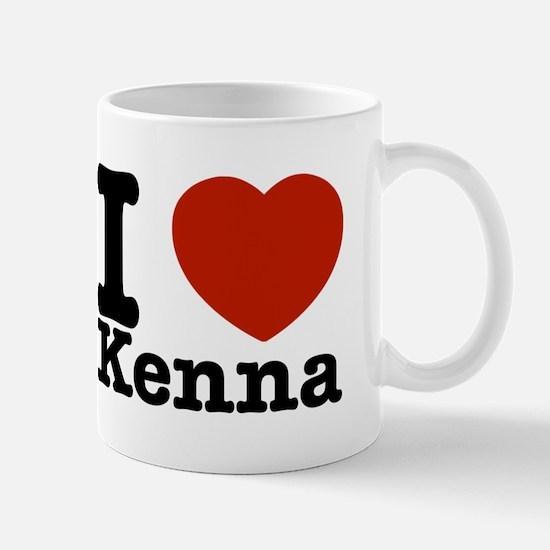 I Love Kenna Mug