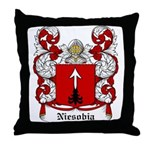 Niesobia Coat of Arms Throw Pillow