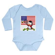 Sports Long Sleeve Infant Bodysuit