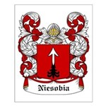 Niesobia Coat of Arms Small Poster