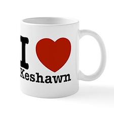 I Love Keshawn Mug