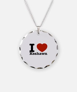 I Love Keshawn Necklace