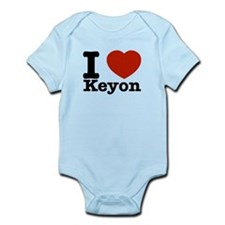 I Love Keyon Infant Bodysuit