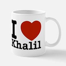 I Love Khalil Mug