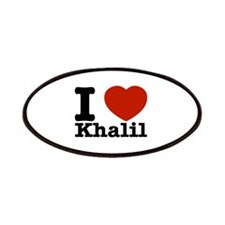 I Love Khalil Patches