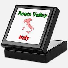 Aosta Valley Keepsake Box