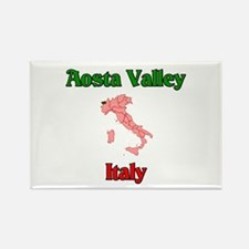 Aosta Valley Rectangle Magnet