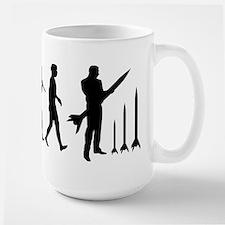 Model Rockets Lover Large Mug