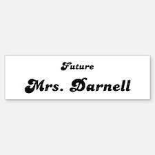 Mrs. Darnell Bumper Bumper Bumper Sticker