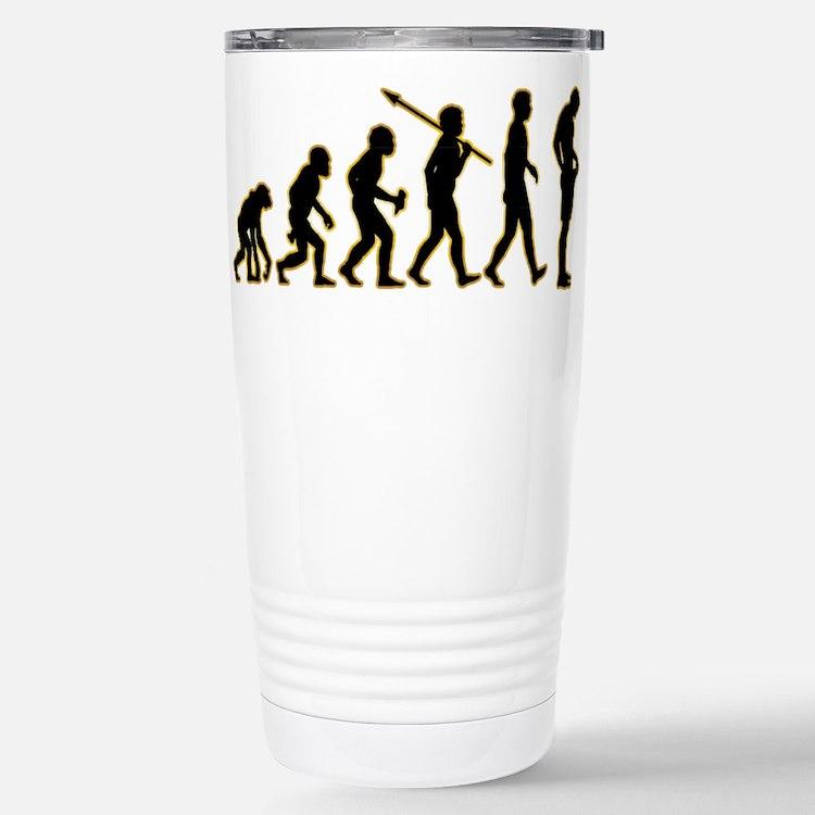 Manhood Check Stainless Steel Travel Mug