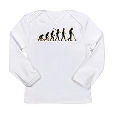 Metal Detecting Long Sleeve Infant T-Shirt