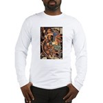 Miyamoto Musashi Fights Nue Long Sleeve T-Shirt