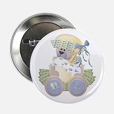 Teddy Bear Birthday Button