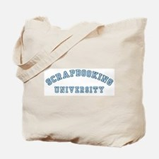 Scrapbooking University Tote Bag