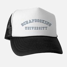 Scrapbooking University Trucker Hat