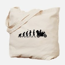 Motorcycle Traveller Tote Bag