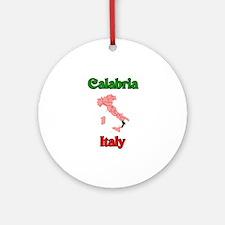 Calabria Ornament (Round)